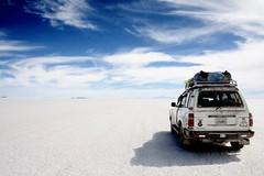 Prête à affronter le désert de sel...