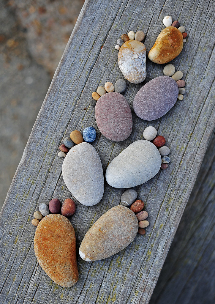 Adorable-Stone-Footprints-By-Iain-Blake
