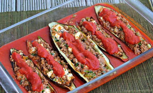 Stuffed Eggplants 2