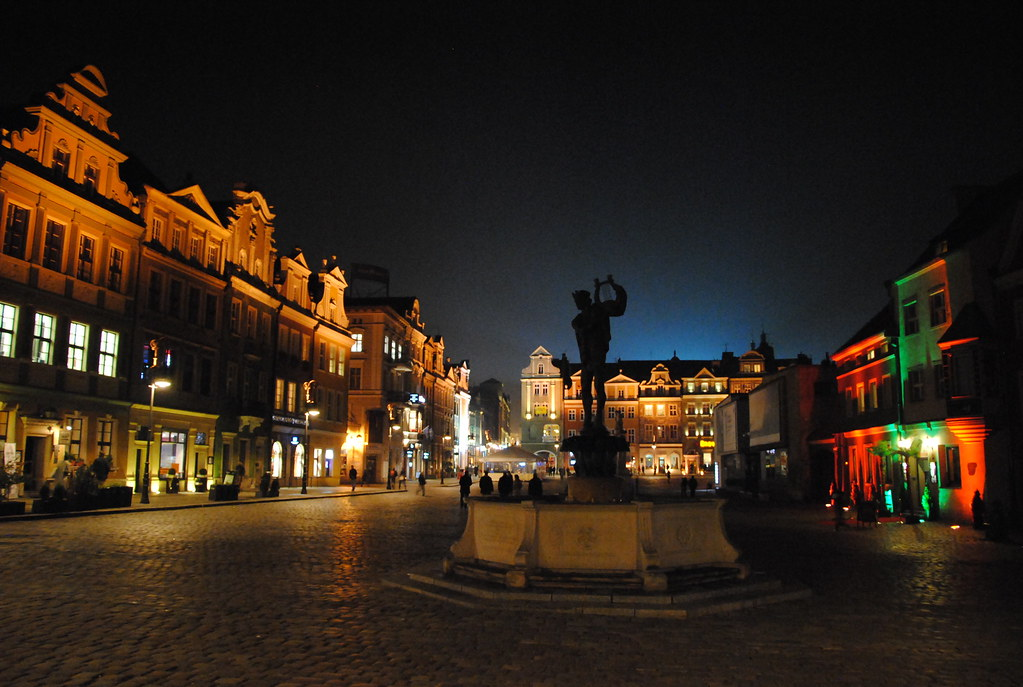 Old Market Square by night - 1