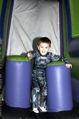 sequoia on the inflatable slide    MG 7320