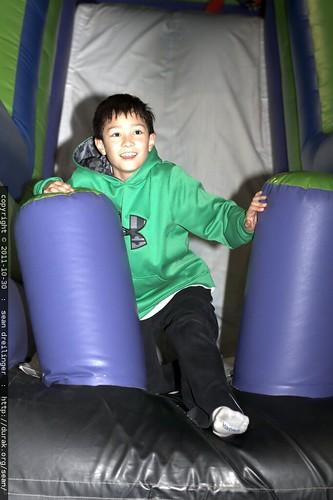 ben on the slide    MG 7348