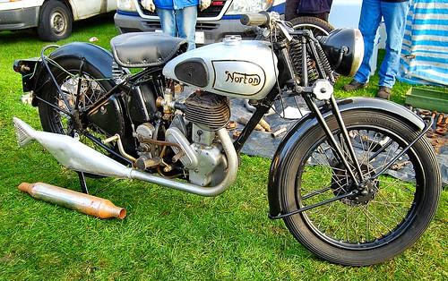 NORTON 16H. UK 500cc SINGLE. 1940s-50s