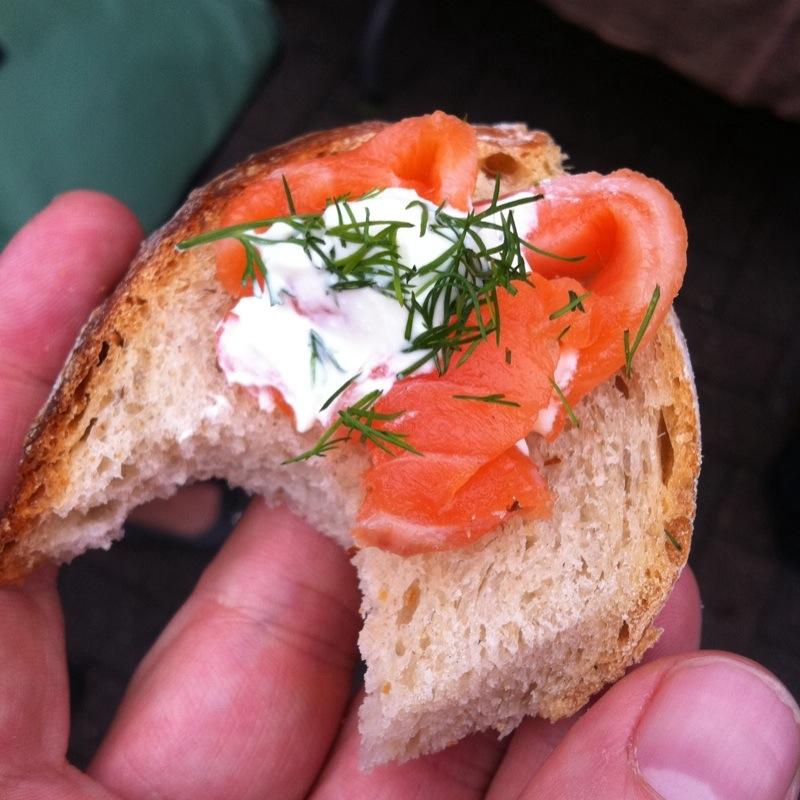 Smoked Salmon Sampler @ Hansen & Lydersen