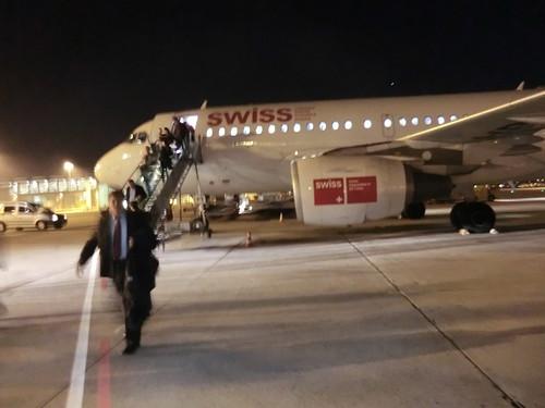 Swiss air @ Stuttgart in Germany