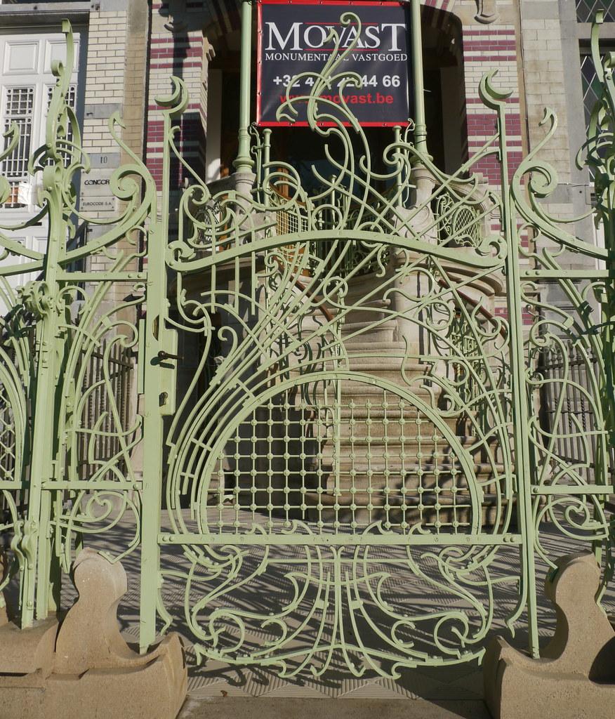 Bruxelles belgique square ambiorix la maison de saint for Architecte de jardin bruxelles
