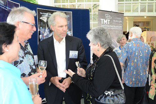 <p>IfA Director Hasinger and President Greenwood welcome Steven Beckwith, University of California, Berkeley vice president of research and graduate studies.</p>