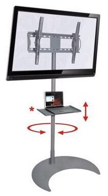 """Pedestal de Chão para TV LCD, LED e Plasma de 32"""" a 52"""""""