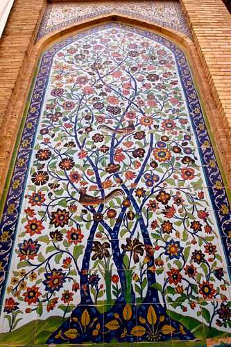 Tree of Life at the Vakil Mosque - Shiraz