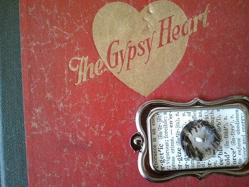 Gypsy Heart Altered Book