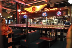 An American-style diner in Finland.