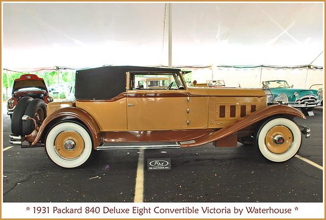 1931 Packard Convertible Victoria