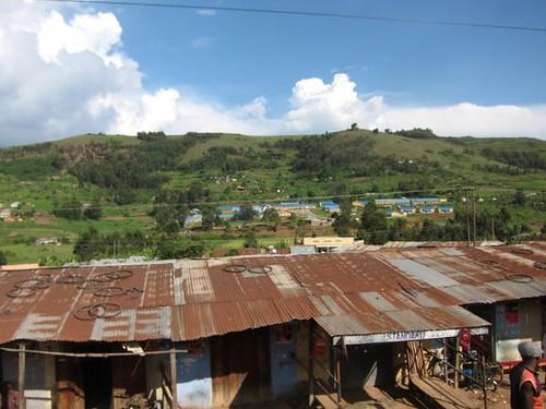 Ugandan Roadside Village