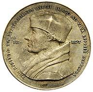 Medal Erasmus von Rotterdam rev