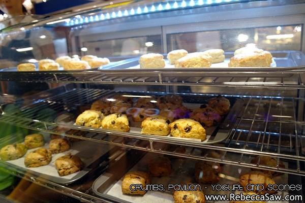 Crumbs Pavilion - yogurt and scones-8