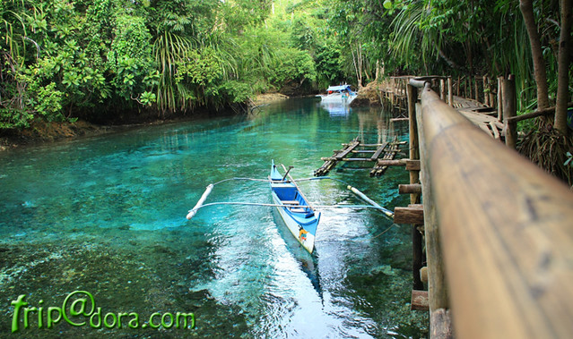 Hinatuan Enchanted River by Izah Morales