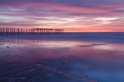 Sunrise at 59th Street Pier... Cape May, NJ... by toryporter (back... FAR behind!)