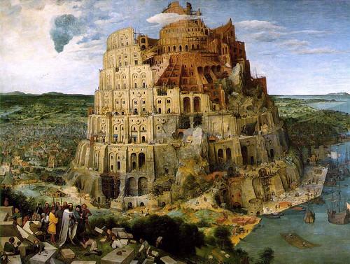 "Pieter Bruegel (The elder) ""The Tower of Babel"" 1563 by Art & Vintage"