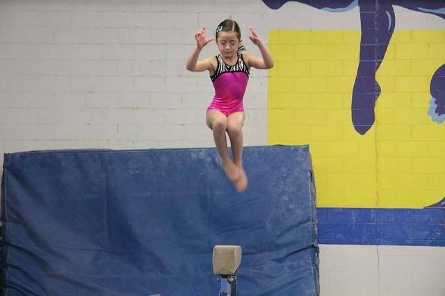Balance beam jump