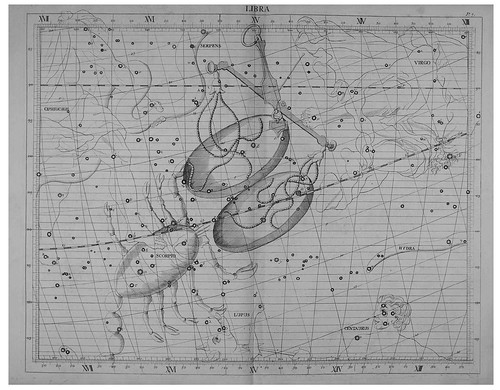 019-Libra-Atlas Coelestis 1753- John Flamsteed- Rare book collections the Vienna University Observatory