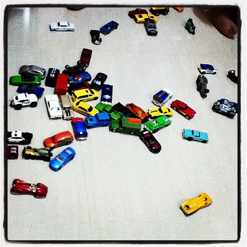 miniature cars collection of Eman