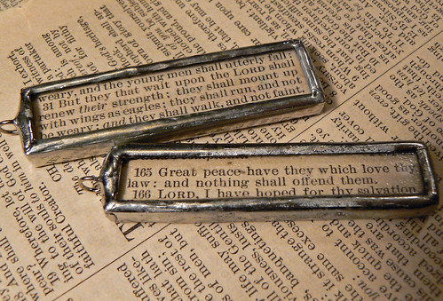 Scripture pendants