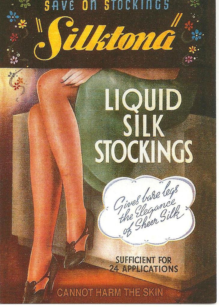Liquid Silk Stockings
