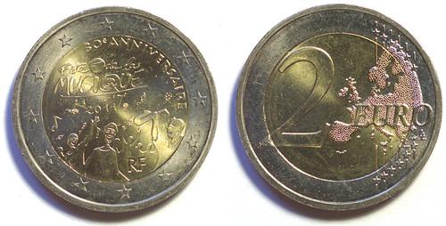 2 Euros de Francia del 2011