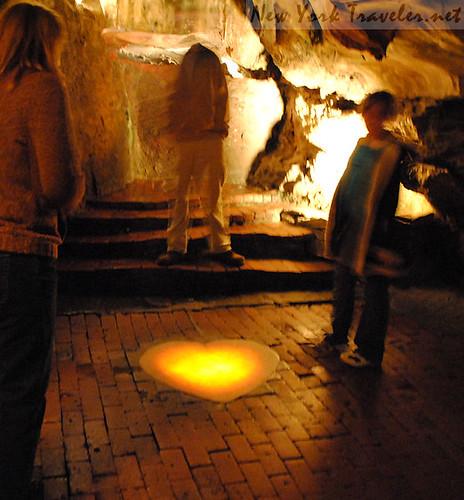 28 Howe Caverns Heart