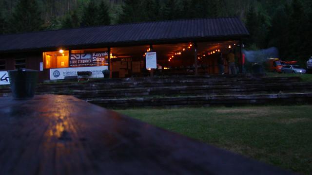 Twilight at Sjoa Kayak Camp