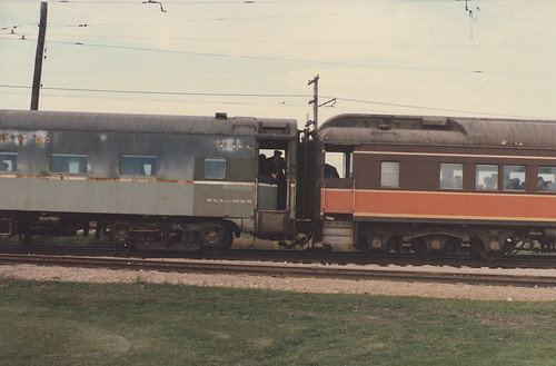 The Illinois Railway Museum.  Union Illinois USA. 1985. by Eddie from Chicago