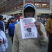 Trayvon Martin 1,000,000 Hoodie March ~ NYC USQ Occupy Justice  ~ Drifting In & Flooding Out to March