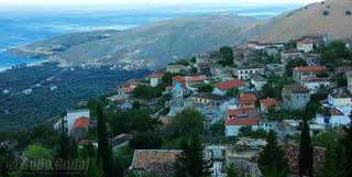 Qeparo fshat-Albania