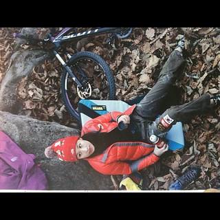 Climber Woonsun Shin in magazine 바퀴 with Organic climbing half pad! Thanks!!