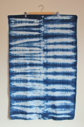 Shibori -  using rulers