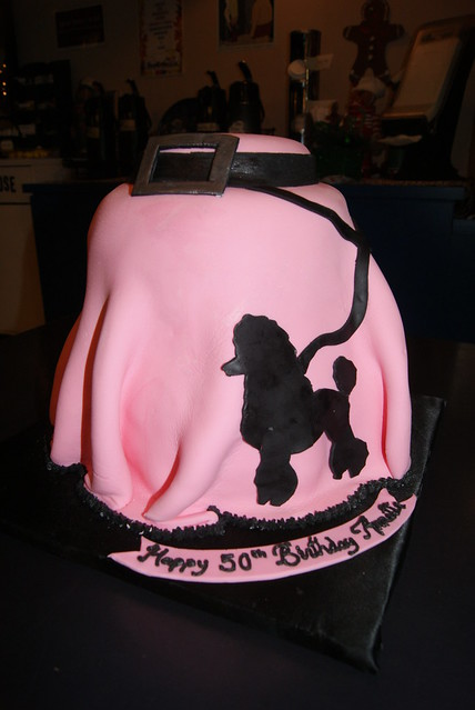 Poodle skirt cake | Flickr - Photo Sharing!