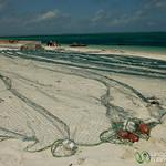 Fishing Nets at Kendwa Beach - Zanzibar, Tanzania