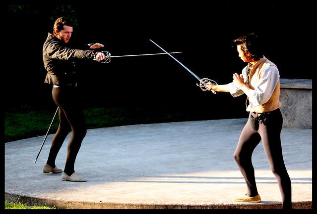 Benvolio Swordfighting
