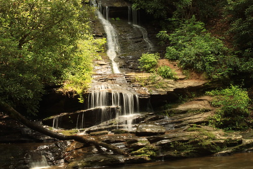 waterfall rocks northcarolina elite