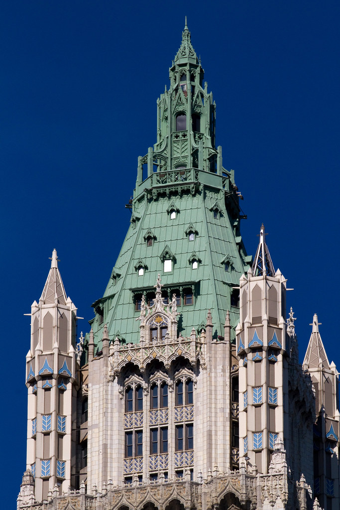 Woolworth building new york tripomatic for Attractions near new york city