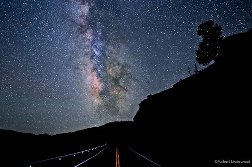 Colorado Road and The Milky Way