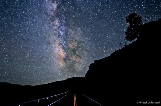 Colorado Road and The Milky Way
