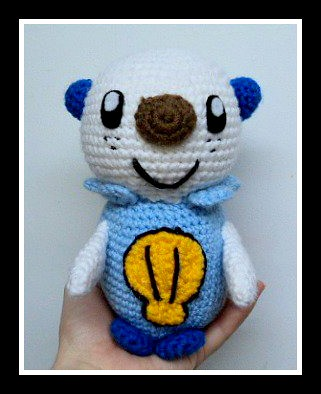 Crochet Pokemon by Sharon Ojala's Flickr