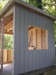 outdoor structure, building, garden buildings, wood, log cabin, outhouse, shed,