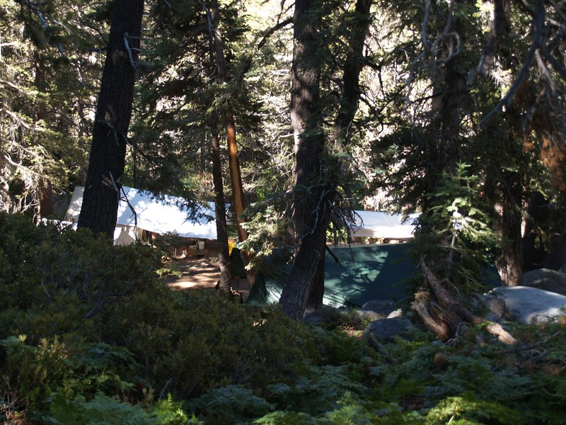 CCC Trail Worker's Camp at Deer Springs on the Pacific Crest Trail