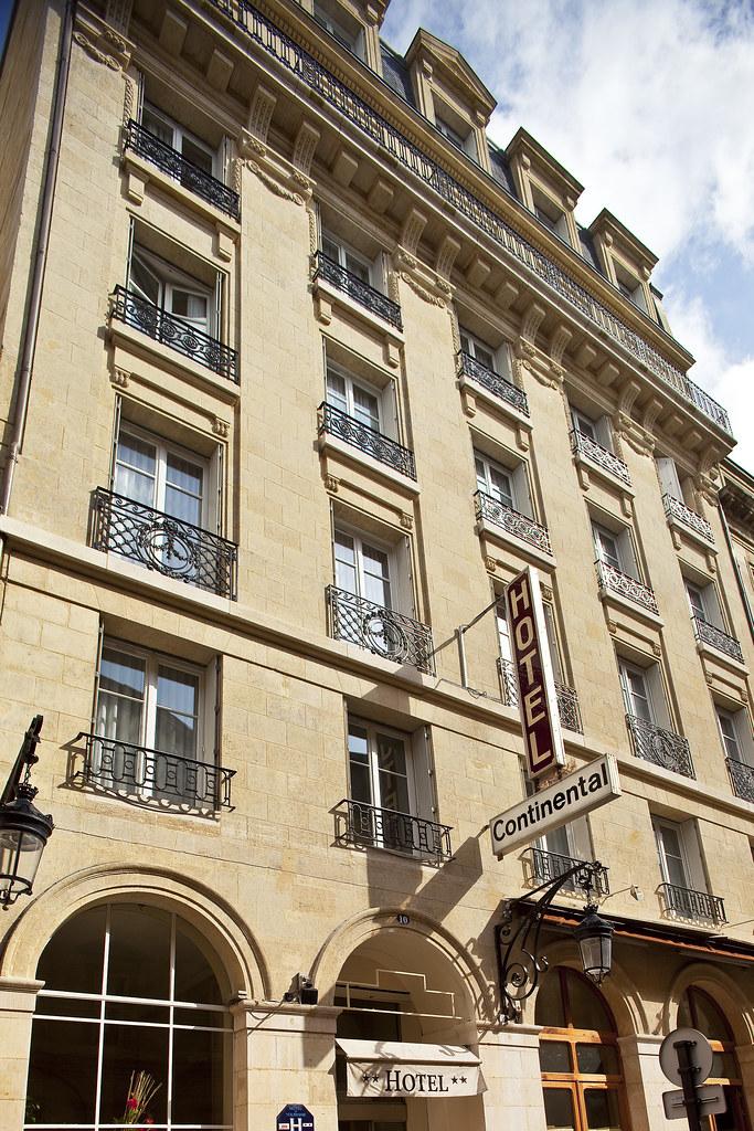 Facade Hôtel continentale bordeaux