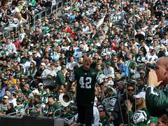 Fireman Ed Leads the J-E-T-S cheer