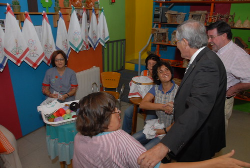Visita de L'Alcade Xavier Trias a Sarrià