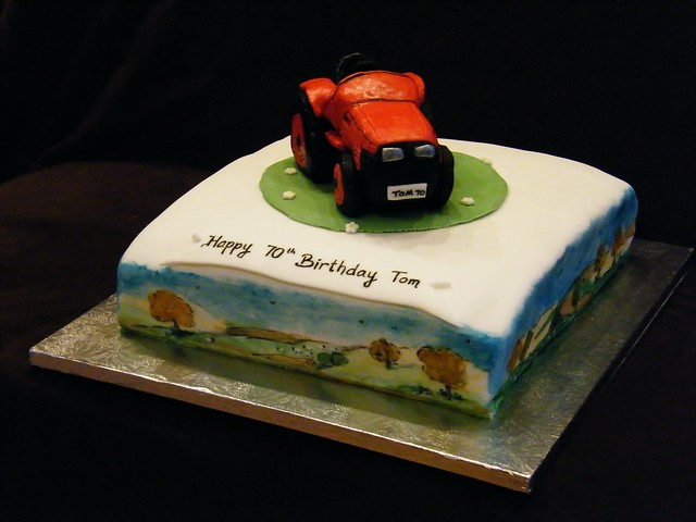 D Tractor Cake Ideas