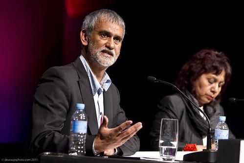 Mike van Graan, South Africa and Lucina Jiménez López, Mexico